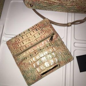 Brahmin Melbourne Atlas large and matching wallet